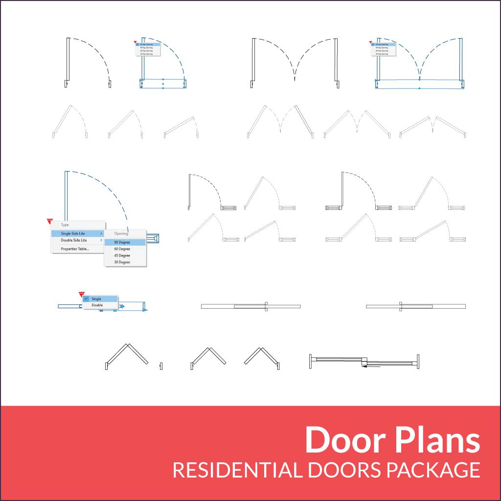 Residential Doors Package